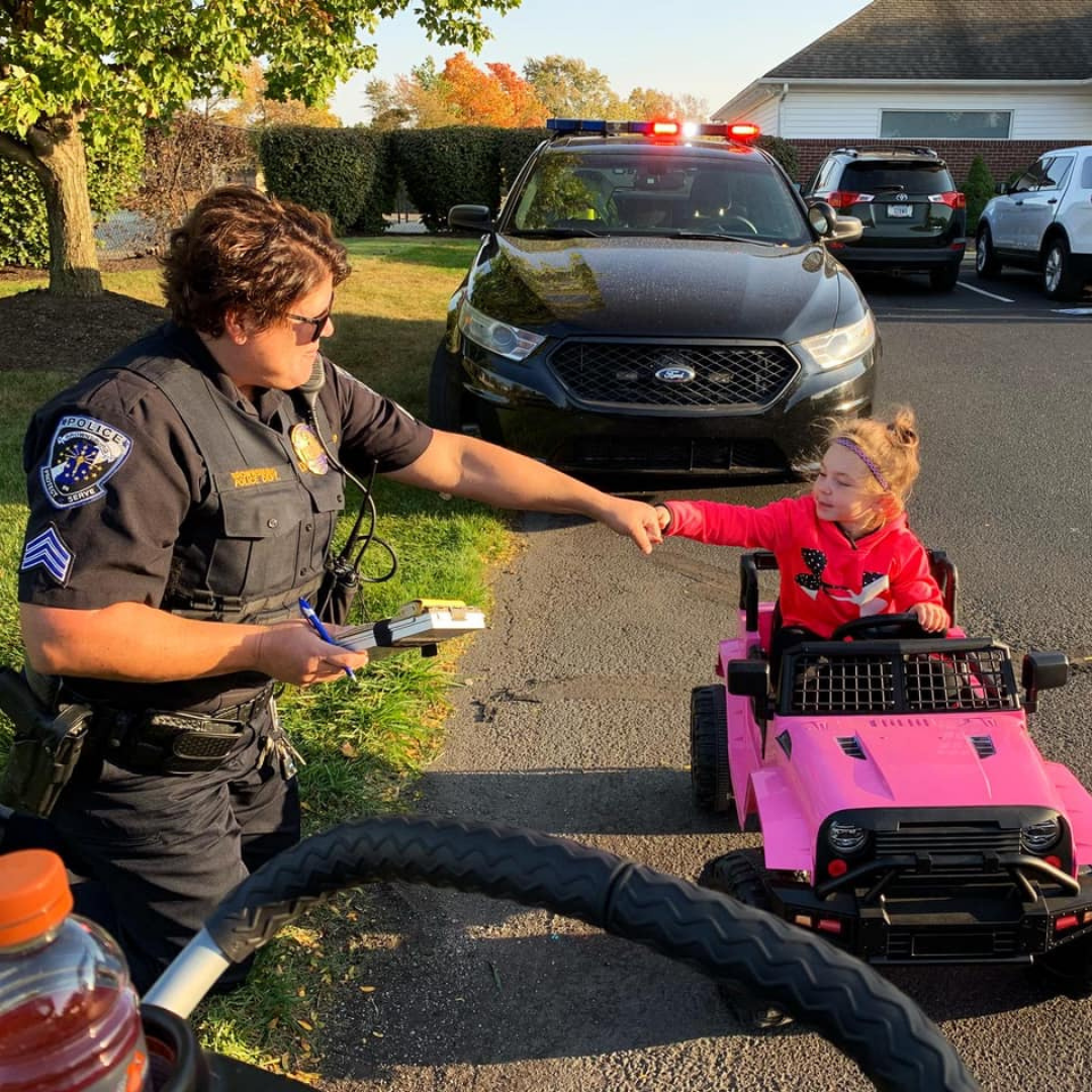 Officer With Kid
