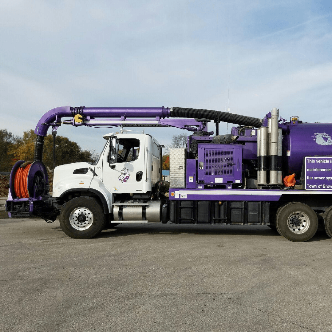 Sewer Collection Maintenance Truck
